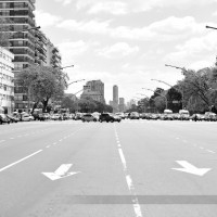 Buenos Aires in Black and White